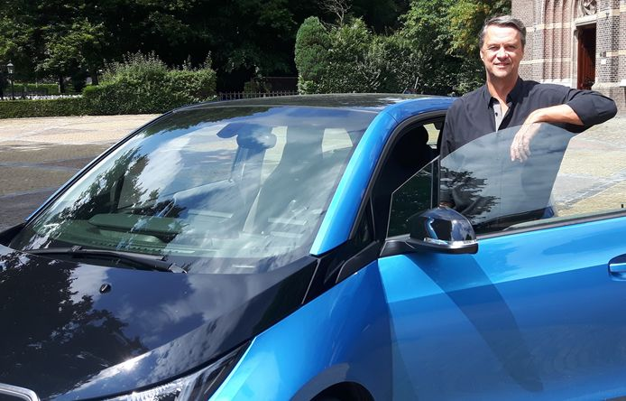 Marcel Kloprogge startte eerder al een deelautoproject in Helvoirt.