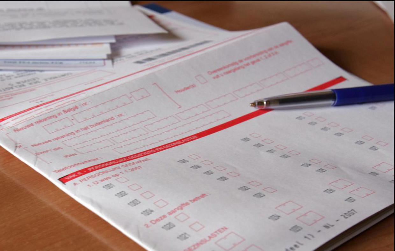 Wie zijn aangifte nog op papier doet, heeft tijd tot 30 juni. Beeld photo_news