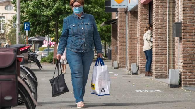Geen mondmaskers meer verplicht in winkelstraten