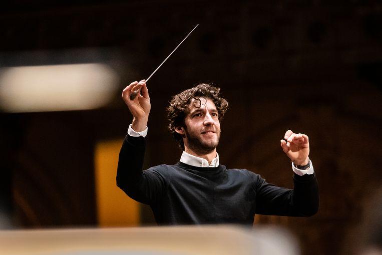 De aanstelling van dirigent Lorenzo Viotti bij De Nationale Opera en het Nederlands Philharmonisch Orkest leidde twee jaar geleden tot  verbazing. Beeld Melle Meivogel