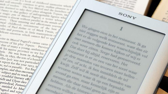 Steeds meer mensen lezen boeken digitaal.