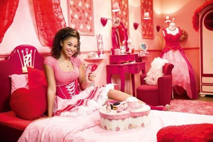 Als prinses Roos in Prinsessia.