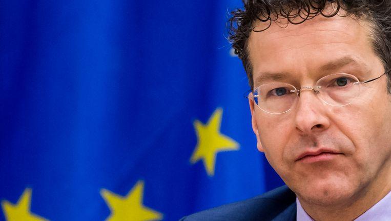 Eurogroep-voorzitter Jeroen Dijsselbloem.