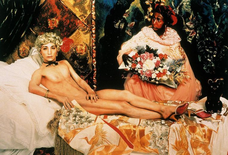 Yasumasa Morimura, Portrait (Futago), 1988 Beeld San Francisco Museum of Modern Art