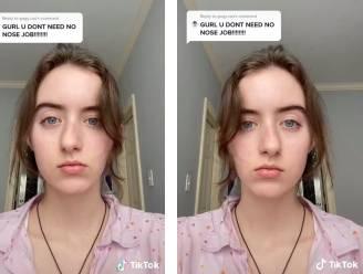 """Nieuwe TikTok-filter 'ontspiegelt' je gezicht en dat is shockerend voor velen: """"Ik haat deze trend. Ik voel me zo lelijk"""""""