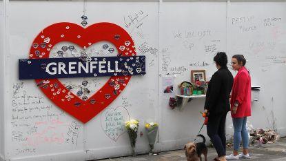 Een jaar na de dodelijke brand in de Grenfelltoren: 72 gezinnen zitten nog steeds in een hotelkamer