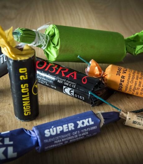 32 kilo aan illegaal vuurwerk aangetroffen in Waardenburg