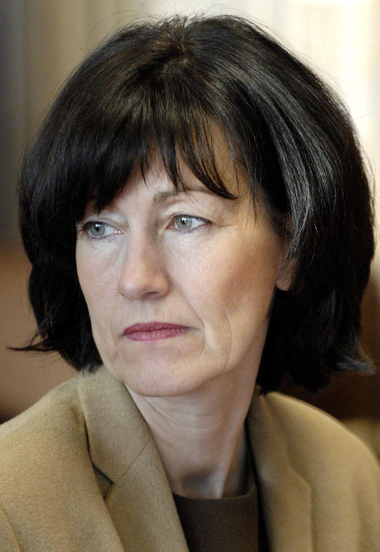 Laurette Onkelinx in 2006. Beeld BELGA
