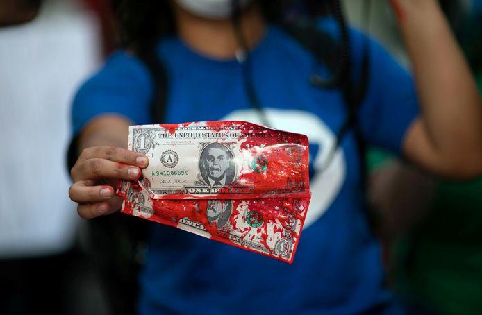 Vorige week braken verschillende demonstraties uit doorheen Brazilië naar aanleiding van de fraudezaak.