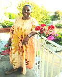 De moeder van Aurelle Kedy.