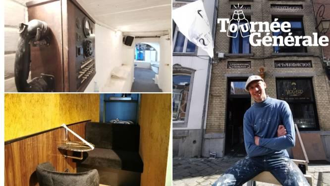 """Binnenkijken in Vloei-Bar, het nieuwe project  van sommelier Andy De Brouwer: """"Een clash tussen stijlen en contrasten, daar hou ik van"""""""
