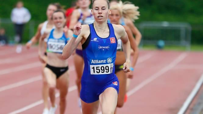 """Renée Eykens (800m) wil ritme opdoen op Europabeker: """"Ideale wedstrijden om op tactische koersen te oefenen"""""""