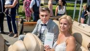 IN BEELD: Leandro Trossard stapt in het huwelijksbootje