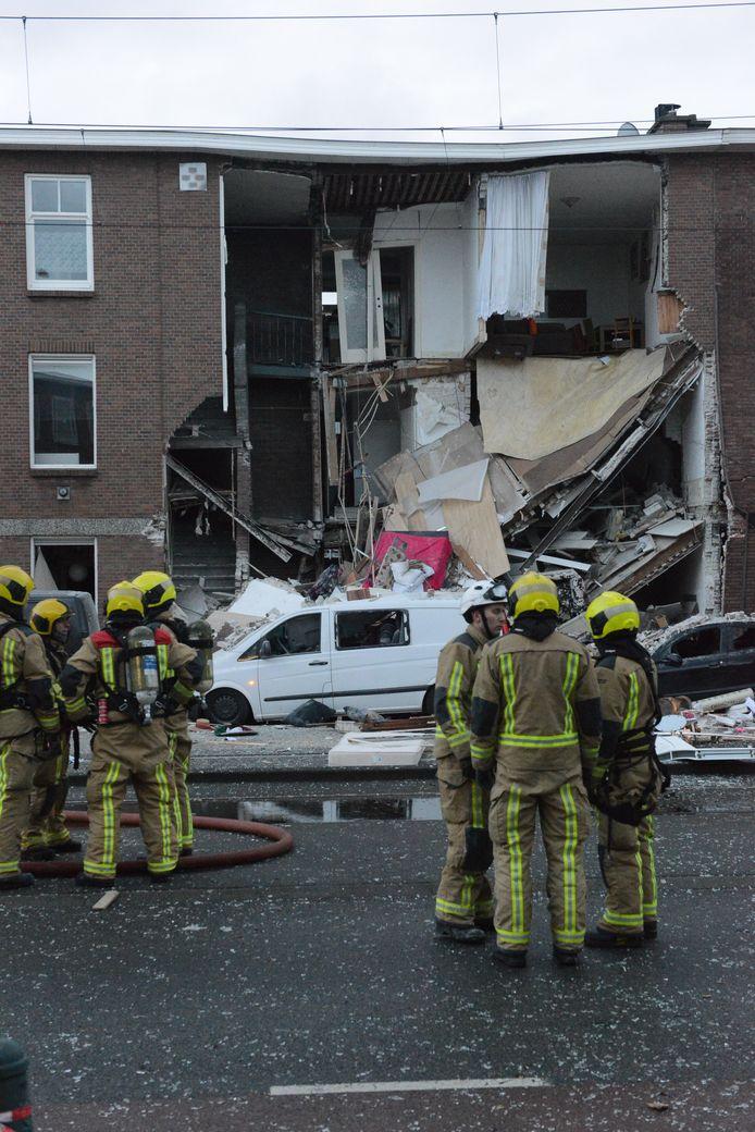 Enorme explosie in Den Haag.