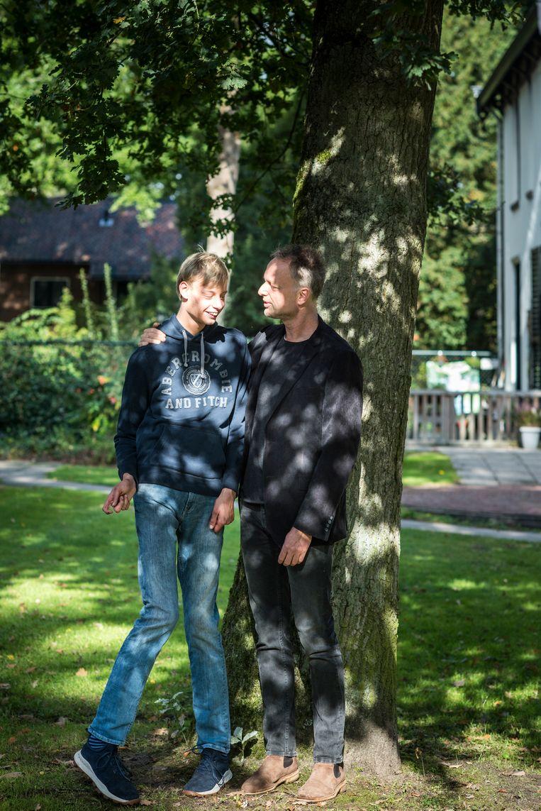 Boris woont nu na wat omzwervingen een jaar in Driebergen bij een instelling. Beeld Linelle Deunk