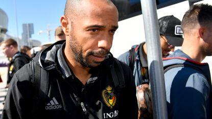 Ook voor assistent Thierry Henry ligt er contract klaar, máár de Fransman wacht af