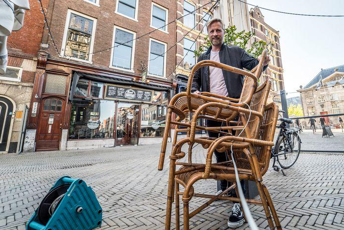 Vincent Quack van café De Sjees.