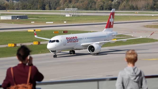 Luchtvaartmaatschappij Swiss wil niet-gevaccineerd personeel ontslaan