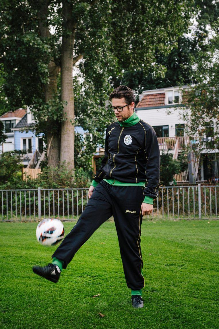 Nick Klaessens: 'Ik ben bij dit team terechtgekomen en iedereen heeft me geaccepteerd zoals ik ben, om wie ik ben' Beeld Marc Driessen