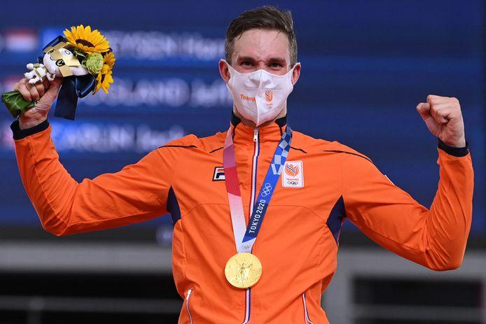 Goud: Harrie Lavreysen (baanwielrennen, sprint, mannen)
