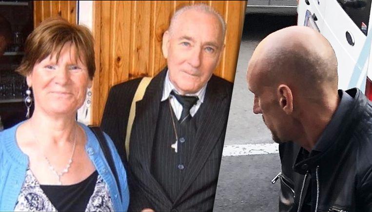 Slachtoffers Marie-Claire Chapelle en François Waeterinckx en beklaagde Willy Molon (rechts)