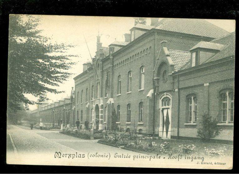 In de landloperskolonie van Merksplas werd eind de jaren 30 een Jodenkamp opgericht, met plaats voor 600 man. Beeld RV