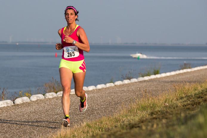 Monique Verschuure kon zondag weer een medaille toevoegen aan haar inmiddels ruime arsenaal.