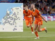 Op deze plekken kun je zondag gezellig de WK-finale kijken