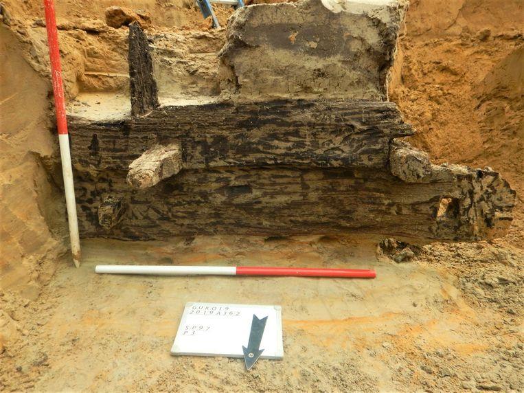 Archeologen van Monument Vandekerckhove nv vonden sporen van een nederzetting, vermoedelijk afkomstig uit de IJzertijd.
