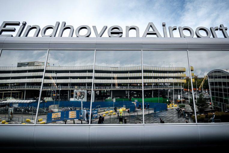 Eindhoven Airport doet mee aan een proef met elektrisch vliegen. Beeld ANP