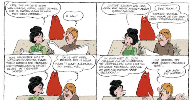 Waarom dit stripje van jan jans en de kinderen het for Waarom kussen mensen