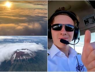 Travis (18) vliegt in 44 dagen wereld rond en deelt adembenemende beelden