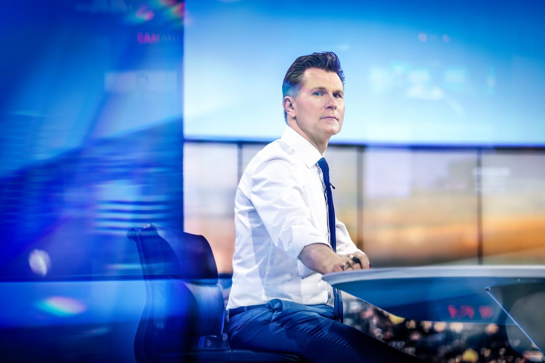 Journaalanker Wim De Vilder. Beeld VRT