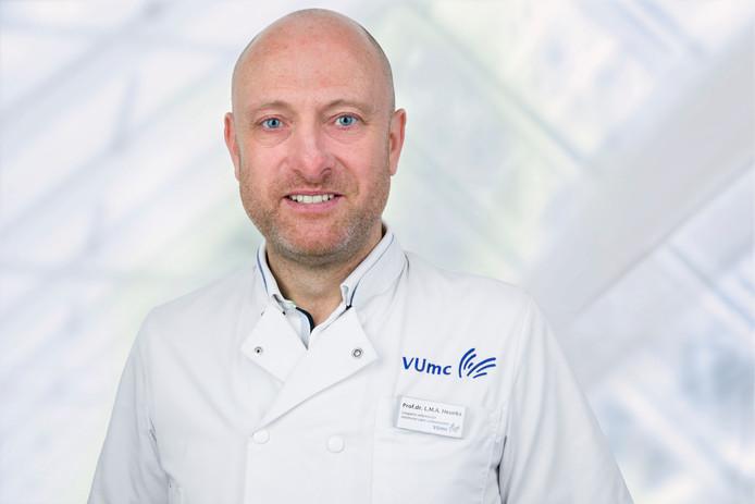 Leo Heunks, hoogleraar Intensive Care.