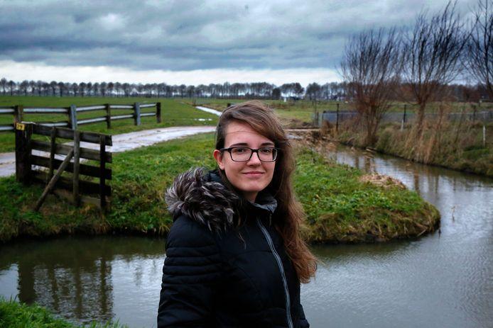 Aluda Huibers vreest voor de komst van een asielzoekerscentrum