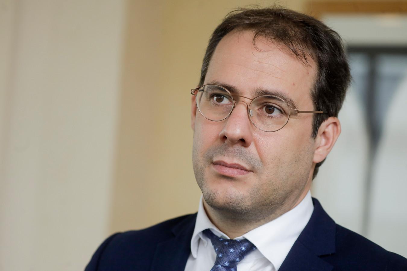 David Clarinval, le ministre des Indépendants et des PME