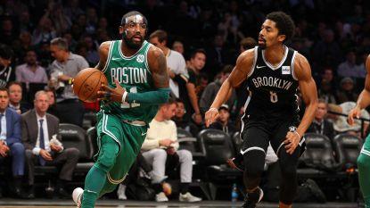 Boston is niet te stoppen in de NBA: dertiende zege op rij met dank aan Kyrie 'The Mask' Irving