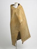 Maori mantel 1750-1775, meegebracht door James Cook. Geschenk P. van Damme, 1775. Zeeuws Museum 3600-BEV-97-02