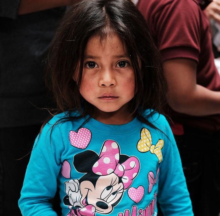 Een kind uit Guatemala. Beeld AFP
