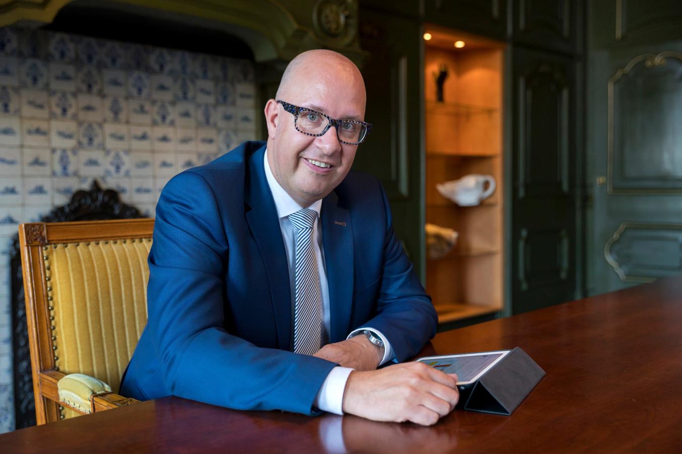 Nederland,  Den Bosch, burgemeester van Den Bosch Jack Mikkers