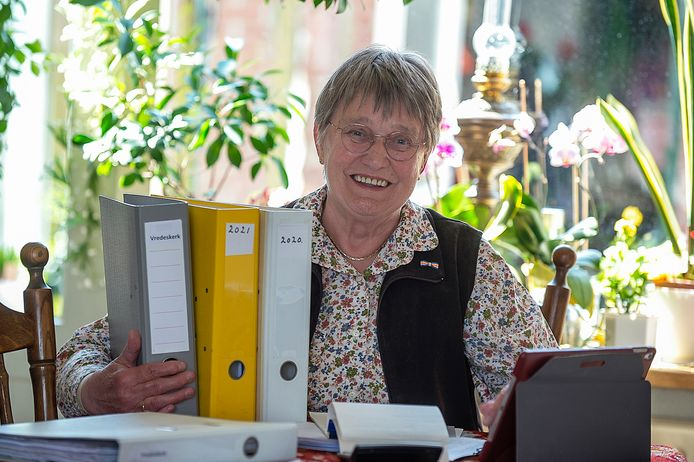 Rina Gelten uit Steenbergen kreeg dit jaar een lintje.