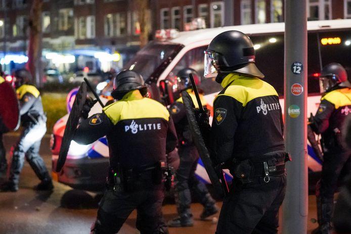 Chaos op Rotterdam-Zuid.
