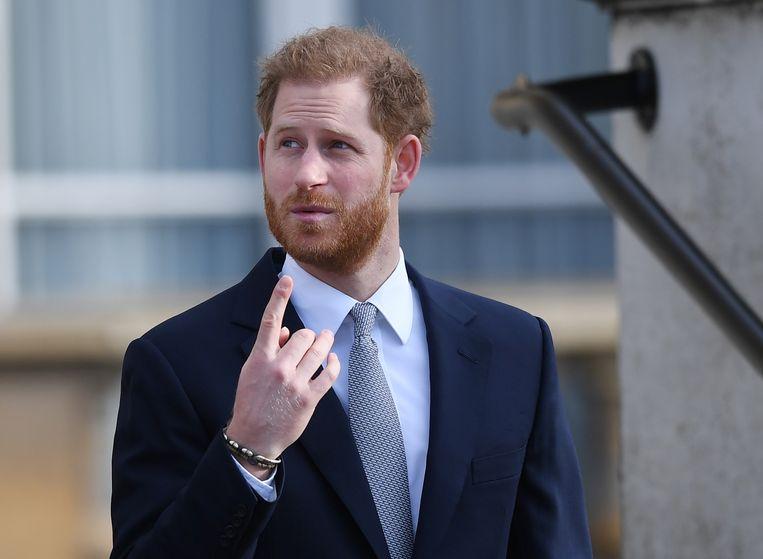 Prins Harry Beeld EPA