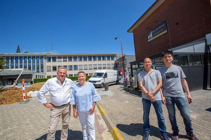 Dirk Bernaer en Nathalie Campens laten hun zaak over aan Qiang Lin en Qingbo Chen