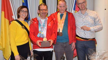 Gemeente feliciteert Patrick en Boudewijn met medailles op de Special Olympics World Games