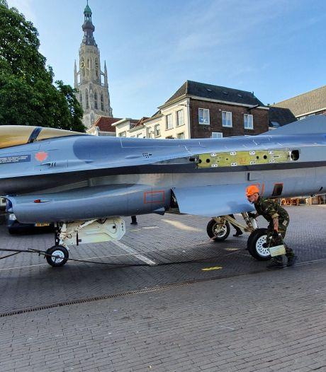 F-16 vanuit Volkel naar Breda, KMA heeft nieuwe 'poortwachter'