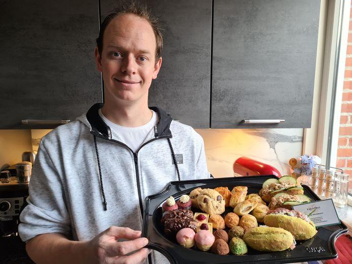 Jaimy Neuteboom wist op z'n dertiende al dat hij kok wilde worden.