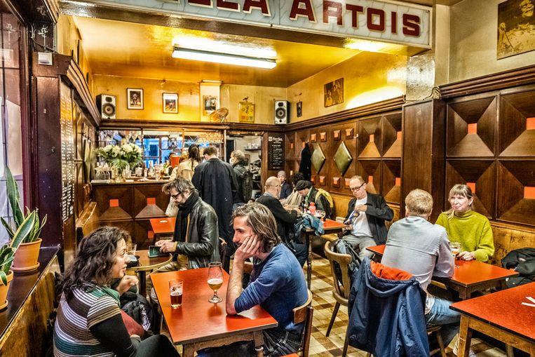 Café Daringman in de Brusselse Dansaertwijk. Beeld Tim Dirven