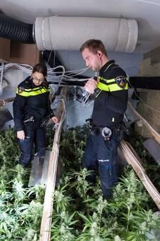 Politie vindt niet 1,6 maar 2,7 miljoen euro aan marihuana in Enschede