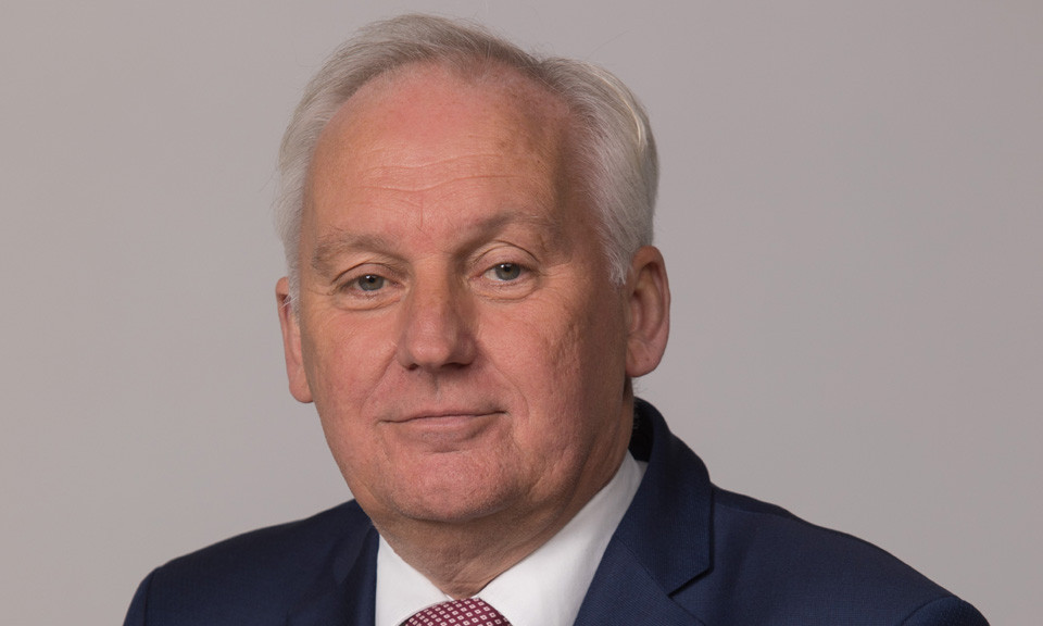 Waarnemend burgemeester Dirk van der Borg.